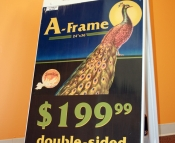 Plastic A-Frame
