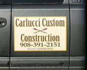 Carlucci Custom Construction Vehicle Magnet (Hopewell, NJ)
