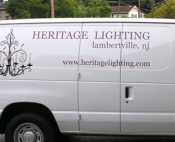 Heritage Lighting Van (Lambertville,NJ)